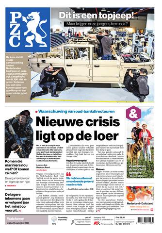 Provinciale Zeeuwse Courant 2018-09-14