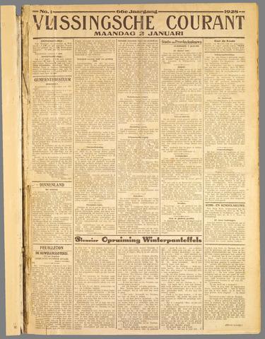 Vlissingse Courant 1928