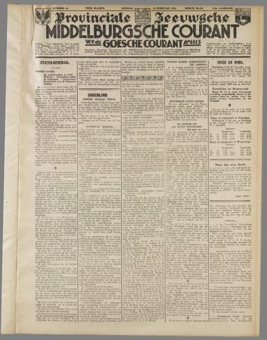 Middelburgsche Courant 1933-02-21