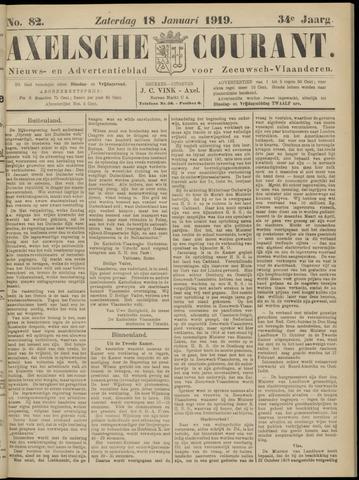 Axelsche Courant 1919-01-18