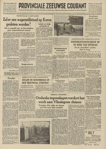 Provinciale Zeeuwse Courant 1953-06-16