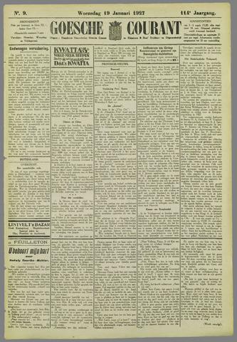 Goessche Courant 1927-01-19