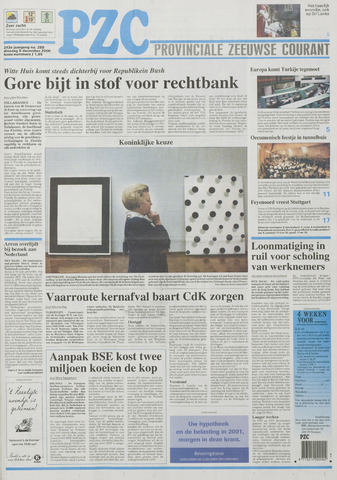 Provinciale Zeeuwse Courant 2000-12-05