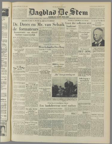 de Stem 1951-02-03