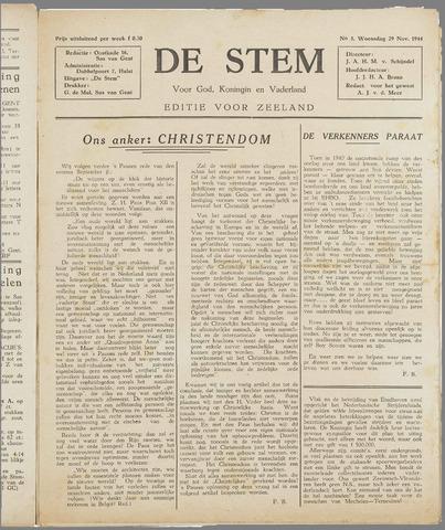 de Stem 1944-11-29