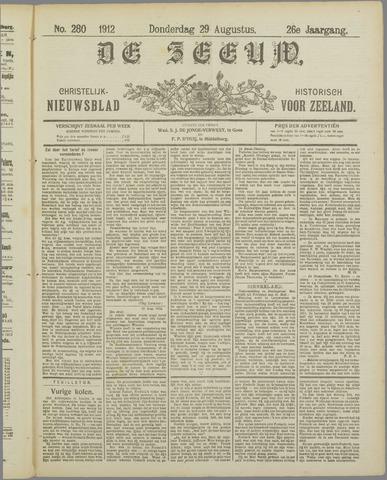 De Zeeuw. Christelijk-historisch nieuwsblad voor Zeeland 1912-08-29