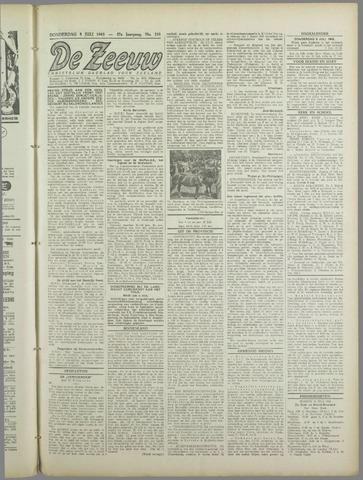 De Zeeuw. Christelijk-historisch nieuwsblad voor Zeeland 1943-07-08