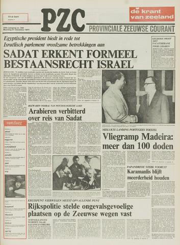 Provinciale Zeeuwse Courant 1977-11-21