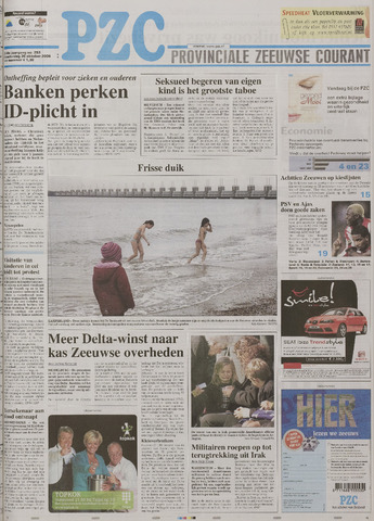 Provinciale Zeeuwse Courant 2006-10-26
