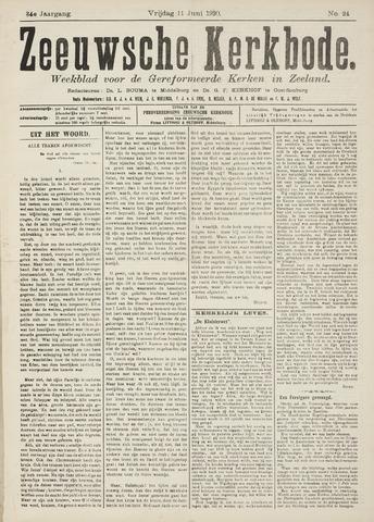 Zeeuwsche kerkbode, weekblad gewijd aan de belangen der gereformeerde kerken/ Zeeuwsch kerkblad 1920-06-11
