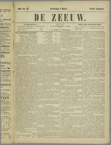 De Zeeuw. Christelijk-historisch nieuwsblad voor Zeeland 1890-03-06