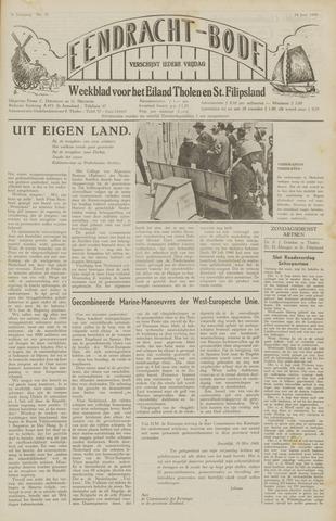 Eendrachtbode (1945-heden)/Mededeelingenblad voor het eiland Tholen (1944/45) 1949-06-24