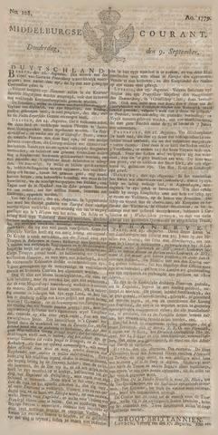 Middelburgsche Courant 1779-09-09