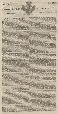 Middelburgsche Courant 1761-10-22