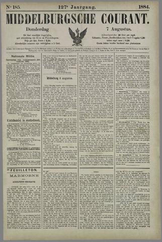 Middelburgsche Courant 1884-08-07