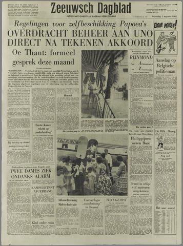 Zeeuwsch Dagblad 1962-08-01