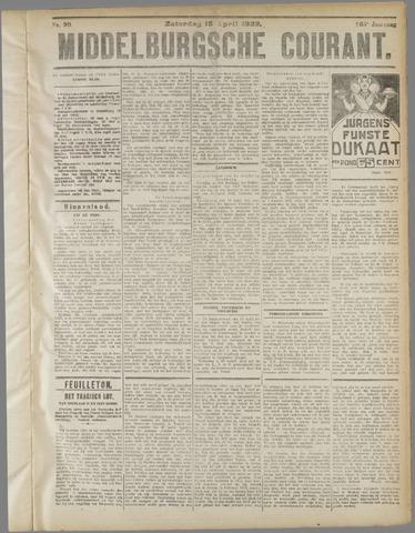 Middelburgsche Courant 1922-04-15