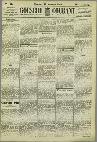Goessche Courant 1927-08-29
