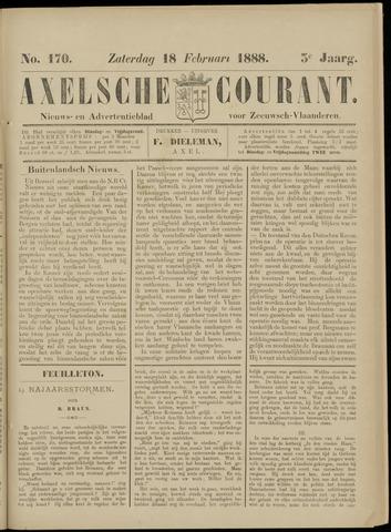 Axelsche Courant 1888-02-18
