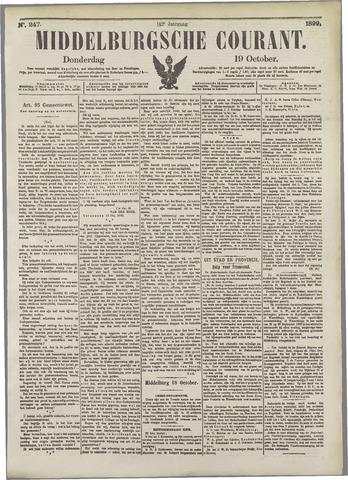 Middelburgsche Courant 1899-10-19