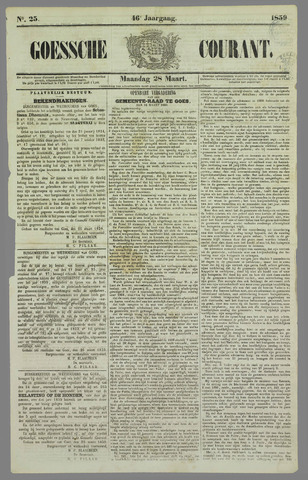 Goessche Courant 1859-03-28