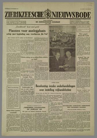 Zierikzeesche Nieuwsbode 1958-11-20