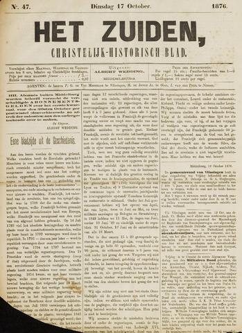 Het Zuiden, Christelijk-historisch blad 1876-10-17