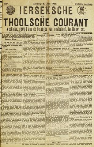 Ierseksche en Thoolsche Courant 1914-06-20