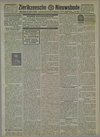 Zierikzeesche Nieuwsbode 1930-04-14