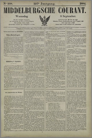 Middelburgsche Courant 1884-09-03