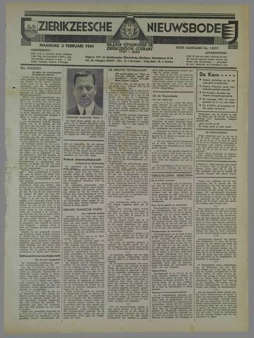 Zierikzeesche Nieuwsbode 1941-02-03