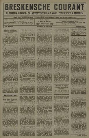 Breskensche Courant 1924-04-16