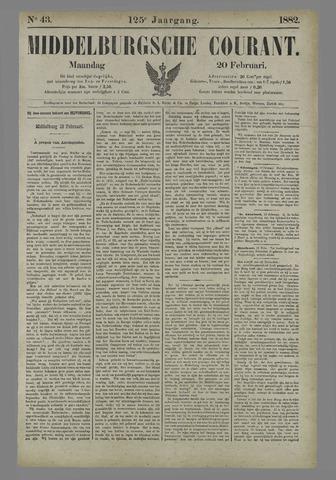 Middelburgsche Courant 1882-02-20