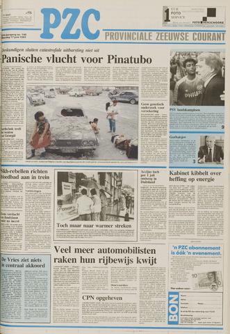 Provinciale Zeeuwse Courant 1991-06-17