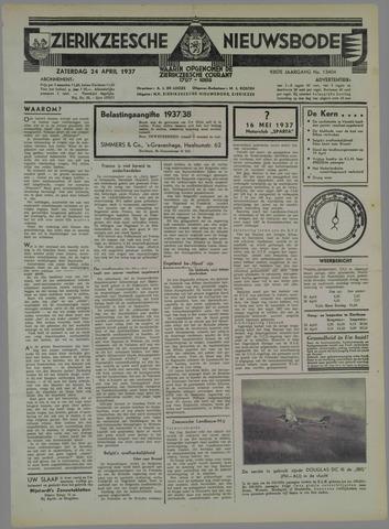 Zierikzeesche Nieuwsbode 1937-04-24