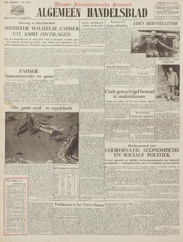 Watersnood documentatie 1953 - kranten 1953-07-25