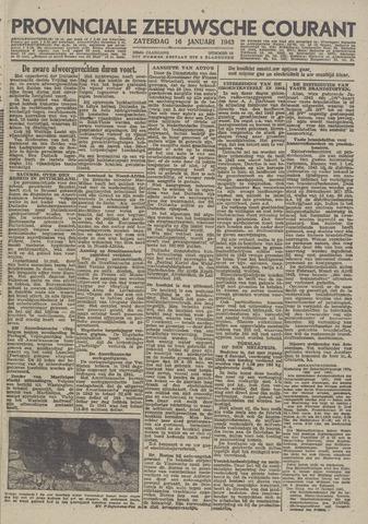 Provinciale Zeeuwse Courant 1943-01-16