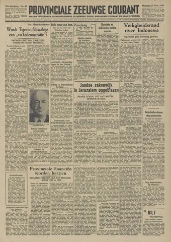 Provinciale Zeeuwse Courant 1948-02-23
