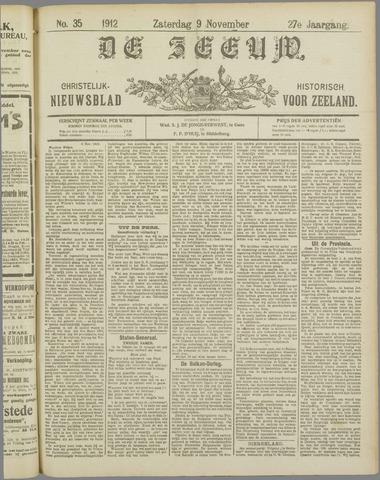 De Zeeuw. Christelijk-historisch nieuwsblad voor Zeeland 1912-11-09
