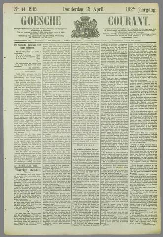 Goessche Courant 1915-04-15