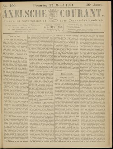 Axelsche Courant 1921-03-23