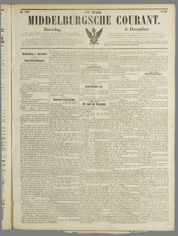 Middelburgsche Courant 1908-12-05