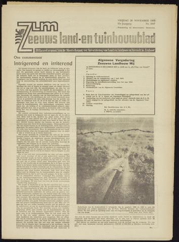 Zeeuwsch landbouwblad ... ZLM land- en tuinbouwblad 1965-11-26