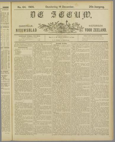 De Zeeuw. Christelijk-historisch nieuwsblad voor Zeeland 1905-12-14
