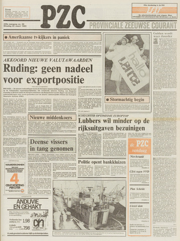 Provinciale Zeeuwse Courant 1983-03-22