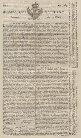 Middelburgsche Courant 1763-03-12