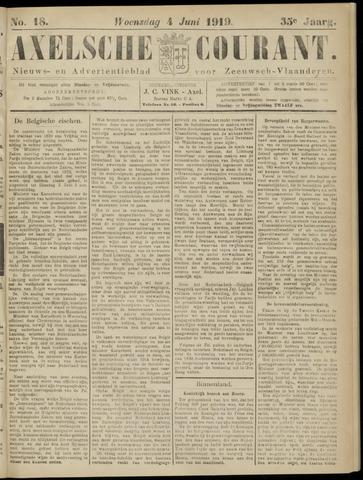 Axelsche Courant 1919-06-04