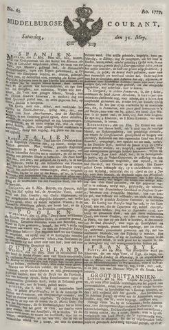 Middelburgsche Courant 1777-05-31