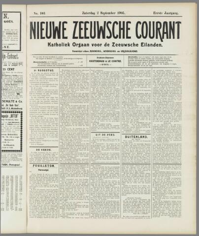 Nieuwe Zeeuwsche Courant 1905-09-02