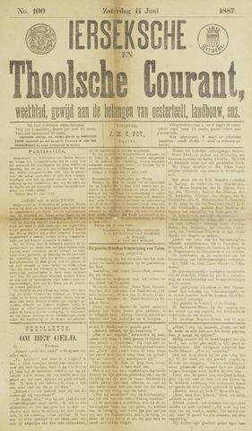 Ierseksche en Thoolsche Courant 1887-06-11
